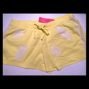 Lilly Pulitzer beaded shorts- XL - New w/tags